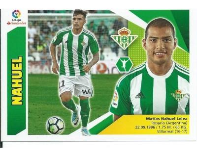Liga Este 2017/2018 NAHUEL Real Betis Nº 15 TERCERA EDICION