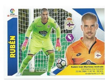 Liga Este 2017/2018 RUBEN R.C. Deportivo Nº 1 TERCERA EDICION