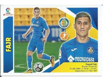 Liga Este 2017/2018 FAJR Getafe C.F. Nº 13B TERCERA EDICION