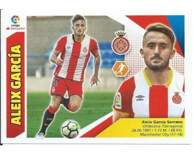 Liga Este 2017/2018 ALEIX GARCIA Girona C.F. Nº 13B TERCERA EDICION