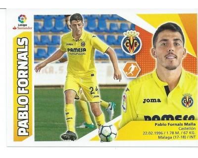 Liga Este 2017/2018 PABLO FORNALS Nº 11BIS COLOCA TERCERA EDICION