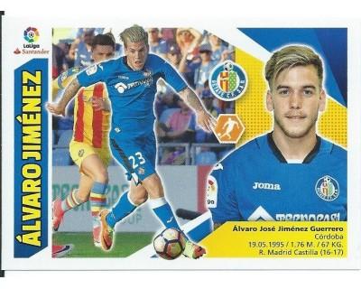 Liga Este 2017/2018 ALVARO JIMENEZ Getafe C.F. Nº 13A CORREGIDO CUARTA EDICION