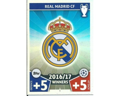MATCH ATTAX CHAMPIONS LEAGUE 17/18 REAL MADRID CF Nº1 1