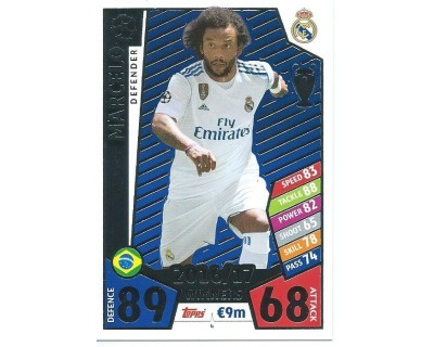 MATCH ATTAX CHAMPIONS LEAGUE 17/18 REAL MADRID CF Nº1 4