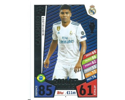 MATCH ATTAX CHAMPIONS LEAGUE 17/18 REAL MADRID CF Nº1 9