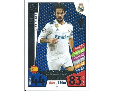 MATCH ATTAX CHAMPIONS LEAGUE 17/18 REAL MADRID CF Nº1 10