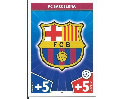 MATCH ATTAX CHAMPIONS LEAGUE 17/18 FC BARCELONA Nº 19