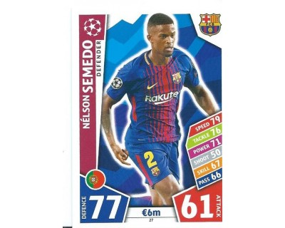 MATCH ATTAX CHAMPIONS LEAGUE 17/18 FC BARCELONA Nº 27