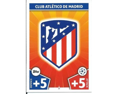 MATCH ATTAX CHAMPIONS LEAGUE 17/18 ATLETICO DE MADRID Nº 37