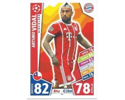 MATCH ATTAX CHAMPIONS LEAGUE 17/18 FC BAYERN MÜNCHEN Nº 65