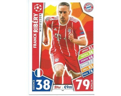 MATCH ATTAX CHAMPIONS LEAGUE 17/18 FC BAYERN MÜNCHEN Nº 66
