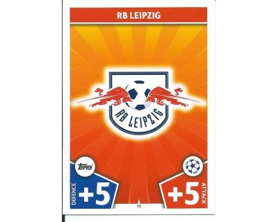 MATCH ATTAX CHAMPIONS LEAGUE 17/18 RB LEIPZIG Nº 73
