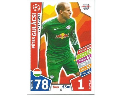 MATCH ATTAX CHAMPIONS LEAGUE 17/18 RB LEIPZIG Nº 74