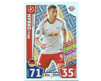 MATCH ATTAX CHAMPIONS LEAGUE 17/18 RB LEIPZIG Nº 77