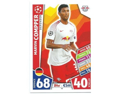 MATCH ATTAX CHAMPIONS LEAGUE 17/18 RB LEIPZIG Nº 78