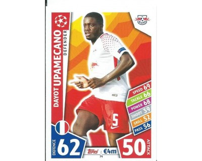 MATCH ATTAX CHAMPIONS LEAGUE 17/18 RB LEIPZIG Nº 79