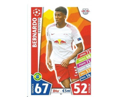 MATCH ATTAX CHAMPIONS LEAGUE 17/18 RB LEIPZIG Nº 80