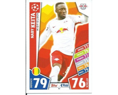 MATCH ATTAX CHAMPIONS LEAGUE 17/18 RB LEIPZIG Nº 82