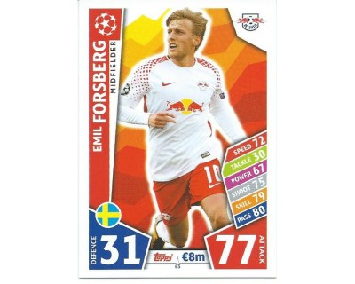 MATCH ATTAX CHAMPIONS LEAGUE 17/18 RB LEIPZIG Nº 83