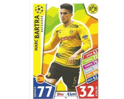 MATCH ATTAX CHAMPIONS LEAGUE 17/18 BORUSSIA DORTMUND Nº 96