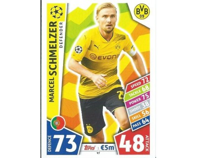 MATCH ATTAX CHAMPIONS LEAGUE 17/18 BORUSSIA DORTMUND Nº 97