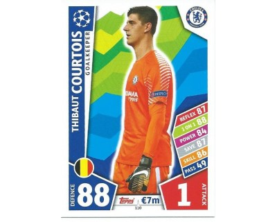 MATCH ATTAX CHAMPIONS LEAGUE 17/18 CHELSEA FC Nº 110