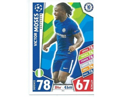 MATCH ATTAX CHAMPIONS LEAGUE 17/18 CHELSEA FC Nº 111