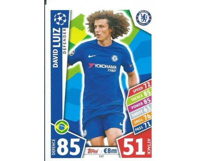 MATCH ATTAX CHAMPIONS LEAGUE 17/18 CHELSEA FC Nº 115