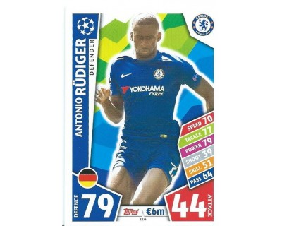 MATCH ATTAX CHAMPIONS LEAGUE 17/18 CHELSEA FC Nº 116