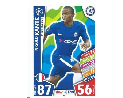 MATCH ATTAX CHAMPIONS LEAGUE 17/18 CHELSEA FC Nº 117