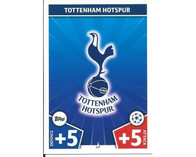 MATCH ATTAX CHAMPIONS LEAGUE 17/18 TOTTENHAM HOTSPUR Nº 127