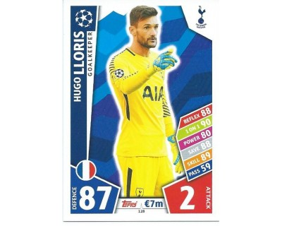 MATCH ATTAX CHAMPIONS LEAGUE 17/18 TOTTENHAM HOTSPUR Nº 128