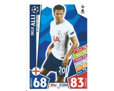 MATCH ATTAX CHAMPIONS LEAGUE 17/18 TOTTENHAM HOTSPUR Nº 135