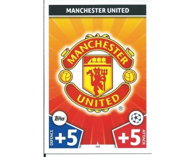MATCH ATTAX CHAMPIONS LEAGUE 17/18 MANCHESTER UNITED Nº 145