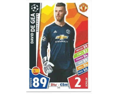 MATCH ATTAX CHAMPIONS LEAGUE 17/18 MANCHESTER UNITED Nº 146