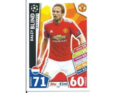 MATCH ATTAX CHAMPIONS LEAGUE 17/18 MANCHESTER UNITED Nº 148