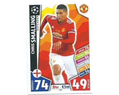MATCH ATTAX CHAMPIONS LEAGUE 17/18 MANCHESTER UNITED Nº 149