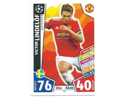 MATCH ATTAX CHAMPIONS LEAGUE 17/18 MANCHESTER UNITED Nº 150