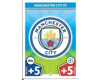 MATCH ATTAX CHAMPIONS LEAGUE 17/18 MANCHESTER CITY FC Nº 163