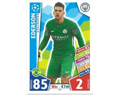 MATCH ATTAX CHAMPIONS LEAGUE 17/18 MANCHESTER CITY FC Nº 164