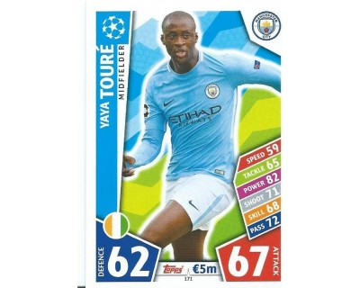 MATCH ATTAX CHAMPIONS LEAGUE 17/18 MANCHESTER CITY FC Nº 171