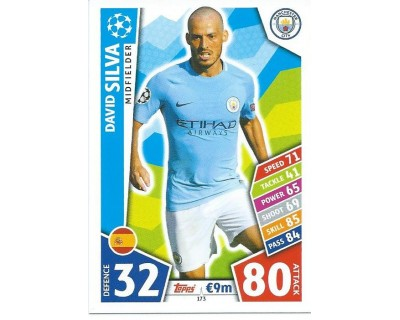 MATCH ATTAX CHAMPIONS LEAGUE 17/18 MANCHESTER CITY FC Nº 173