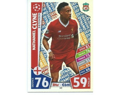 MATCH ATTAX CHAMPIONS LEAGUE 17/18 LIVERPOOL FC Nº 183