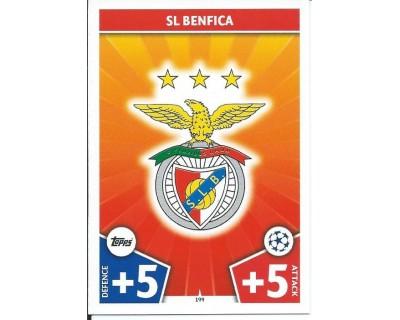 MATCH ATTAX CHAMPIONS LEAGUE 17/18 SL BENFICA Nº 199