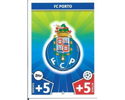 MATCH ATTAX CHAMPIONS LEAGUE 17/18 FC PORTO Nº 217