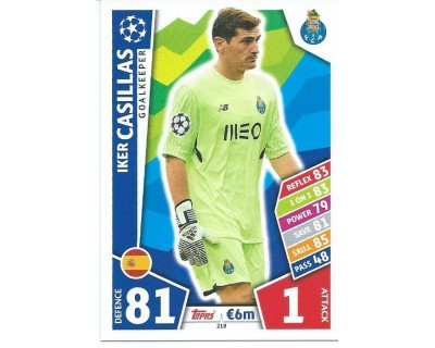 MATCH ATTAX CHAMPIONS LEAGUE 17/18 FC PORTO Nº 218