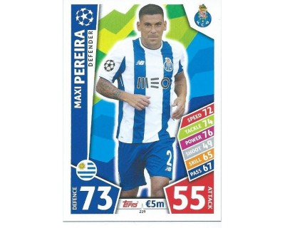 MATCH ATTAX CHAMPIONS LEAGUE 17/18 FC PORTO Nº 219