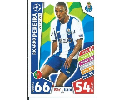 MATCH ATTAX CHAMPIONS LEAGUE 17/18 FC PORTO Nº 220