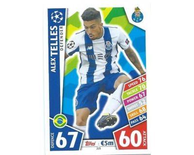 MATCH ATTAX CHAMPIONS LEAGUE 17/18 FC PORTO Nº 221