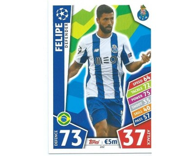 MATCH ATTAX CHAMPIONS LEAGUE 17/18 FC PORTO Nº 222